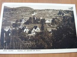 CPA. Barr. Hôtel Et Bains De Buhl. Alsace - Barr