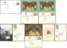 1994 Trentennale Traforo Gran San Bernardo 5 Cartoline In Busta - Eventi