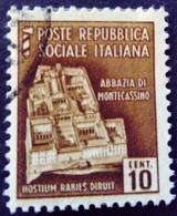 Italie Italy Italia 1944 Yvert 32 O Used Usato - Gebraucht