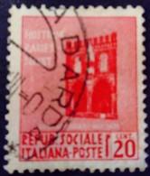 Italie Italy Italia 1944 Yvert 27 O Used Usato - Gebraucht