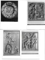 3040v: 4 Kunst- AKs Altreliefs Leidenweg Christus, österreichisches Museum Wien, Ungelaufen (um 1965) - Jezus