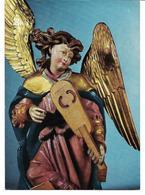 3040w: Ulmer Meister, Geigespielender Engel, Talheimer Altar, Ungelaufene AK Um 1970 - Kerken En Kloosters