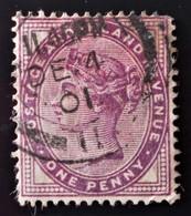 REINE VICTORIA 1881 - OBLITERE - YT 73 - 1840-1901 (Victoria)