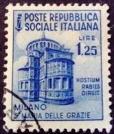 Italie Italy Italia 1944 Yvert 39 O Used Usato - Gebraucht