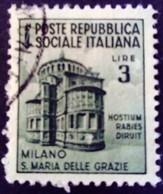 Italie Italy Italia 1944 Yvert 40 O Used Usato - Gebraucht