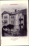 Cp Mariánské Lázně Marienbad Reg. Karlsbad, Villa Budapest, Kasinopark - Tchéquie