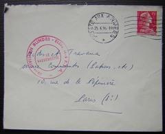 5ème Division Blindée Eléments F.F.A  Poste Aux Armées 1956 - Military Postmarks From 1900 (out Of Wars Periods)