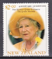 New Zealand 2002 The Queen Mother $2 MNH - New Zealand