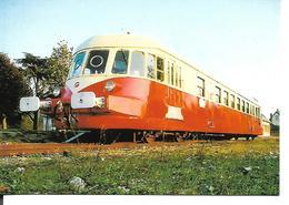 Autorail ABJ  XAD. Chemin De Fer De La Vallée De L'Eure. Gare De Pacy Sur Eure. - Trains