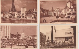 19 / 4 / 420. - PARIS  EXPOSITION INTERNATIONALE   - 1937.  - 9  CPA  - Toutes Scanées - Exhibitions