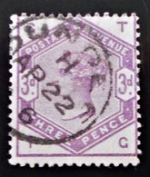 REINE VICTORIA 1883/84 - OBLITERE - YT 80 - MI 76 - 1840-1901 (Victoria)