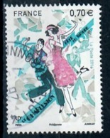 Yt 5083 Fete Du Timbre-danse-charleston-cachet Rond - Used Stamps