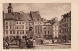 Warszawa Rynek Starego Miasta - Varsovie La Place De Stare Miasto - Polonia