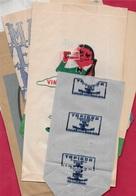 Sac Papier Publicitaire (Lot De 7) Bière KARCHER, MAIZENA, Chocolat PUPIER (2), ASTRA, Vin, Tapioca...EPICERIE Pub - Advertising