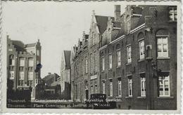 Thourout.   -   Conscienceplaats En St. Vincentius Gesticht.   -   FOTOKAART!    -   1936 - Torhout