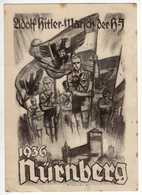 Allemagne : III Reich : Nürnberg 1936 : Adolf Hitler - Marfch Der H-S : Editeur Mjölnir - Nürnberg