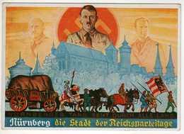 Allemagne : III Reich : Nürnberg 1936 : Adolf Hitler : Die Stadt Der Reichsparteitage - Nuernberg
