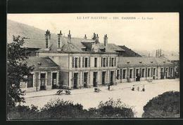 CPA Cahors, La Gare, Vue De La Gare - Cahors