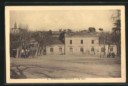 CPA Clermont-L`Herault, La Gare, Vue Partielle Avec La Gare - Sin Clasificación