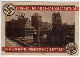 Allemagne : III Reich : Nürnberg   : Erinnerung An Den  Reichsparteitag 1934 - Nuernberg