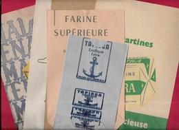 Sac Papier Publicitaire (Lot De 6) Bière KARCHER, MAIZENA, ASTRA, Vins Des Célestins, Tapioca, Farine...EPICERIE Pub - Advertising