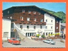"""CPSM GF Wildschonau """" Gasthof Brunner - Restaurant Café Brunner """" Vehicules Fiat - Wildschönau"""