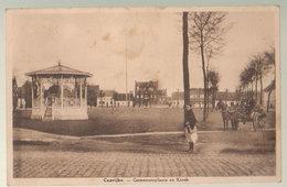 Cpa Caprijke  1917   Attelage - Kaprijke