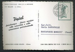 LABORATORIO ROGER BELLON MILANO - PIPTAL - RAMOUILLE' - LE CHATEAU - Pubblicitari