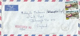 Grenada 1979 St Georges Airport Airplane Registered Cover - Grenada (1974-...)