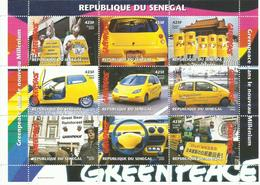 SENEGAL   H/B   GREENPEACE   MNH  ** - Senegal (1960-...)