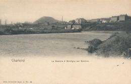 CPA - Belgique - Charleroi - La Sambre à Montigny Sur Sambre - Charleroi