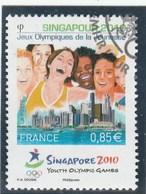 FRANCE 2010 OBLITERE SINGAPOUR  YT 4491 - - Frankreich
