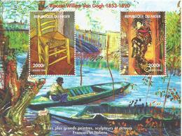 NIGER  H/B   VAN GOGH  MNH  ** - Níger (1960-...)