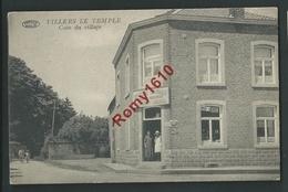 Villers Le Temple. Coin Du Village, Epicerie Centrale, Aunages, Chez Jadoul...   2 Scans - Nandrin