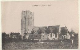 Cpa Westen  1916  Front 14/18 - Vosselaar