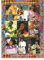 NIGER  H/B   MUSICOS AFRICANOS   MNH  ** - Níger (1960-...)