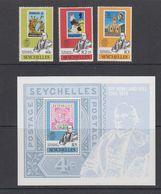 Seychelles 1979 Sir Rowland Hill 3v + M/s ** Mnh (42541) - Seychellen (1976-...)