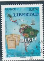 FRANCE 2010 AMERIQUE LATINE YT 4527 OBLITERE - Frankreich