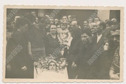 REAL ANCIENNE PHOTO, PHOTO MORTUAIRES Woman Femme - Post-mortem,  Vintage Photo ORIGINAL - Sin Clasificación