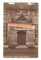 RP GRANTHAM MAIN ENTRANCE KING'S SCHOOL LINCOLNSHIRE 1906 - England