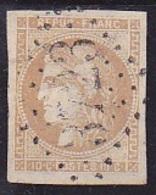 N° 43A Oblitéré - Voir Verso & Descriptif - - 1870 Emission De Bordeaux