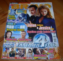Julian McMahon Jessica Alba Angelina Jolie -  BRAVO Serbian Sept.2005 VERY RARE - Books, Magazines, Comics