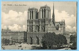 CPA 75 PARIS Cathédrale Notre Dame - Notre Dame De Paris