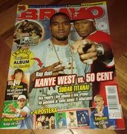 Kanye West 50 Cent Nightwish -  BRAVO Serbian October 2007 VERY RARE - Magazines
