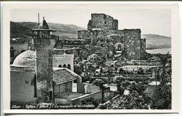 LIBAN LEBANON  BYBLOS JéBAIL La Mosquée Et La Citadelle - Lebanon