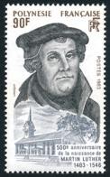 POLYNESIE 1983 - Yv. 208 **    - Martin Luther, Théologien Et Réformateur  ..Réf.POL23910 - Polynésie Française