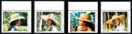 POLYNESIE 1984 - Yv. 212 213 214 215 ** Bdf  Cote= 3,60 EUR - Chapeaux En Polynésie (4 Val.)  ..Réf.POL23916 - Französisch-Polynesien