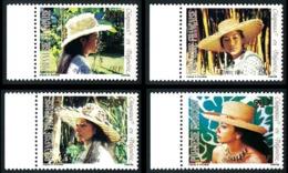 POLYNESIE 1984 - Yv. 212 213 214 215 ** Bdf  Cote= 3,60 EUR - Chapeaux En Polynésie (4 Val.)  ..Réf.POL23918 - Französisch-Polynesien