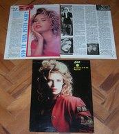 Kim Wilde Clippings From Magazine CAO April 1991 - Yugoslavian VERY RARE - Magazines