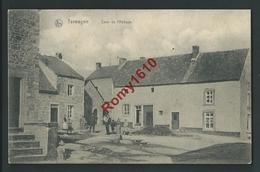 Terwagne (Clavier) Cour De L'Abbaye. Belle Animation, Café.  Voir Les 2 Scans . - Clavier